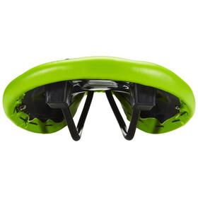 Ventura Bike+Outdoor Sadel Sadel med Nitar grön